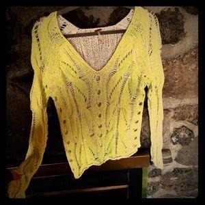 Free People Neon Sweater
